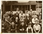 Skip Day at Northwestern Lutheran Theological Seminary: Group photograph of faculty, students, staff, and family members, 1930, Minneapolis, Minnesota
