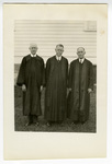 Lutheran pastors, Little Cedar Lutheran Church, Adams, Minnesota