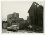 Prince of Glory Church, Minneapolis, Minnesota. Site prior to new building.